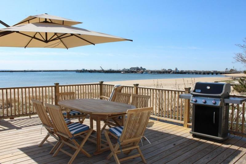 Beautiful deck right on Provincetown Harbor