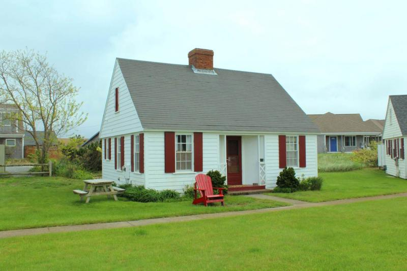 One of the iconic Pilgrim Colony cottages