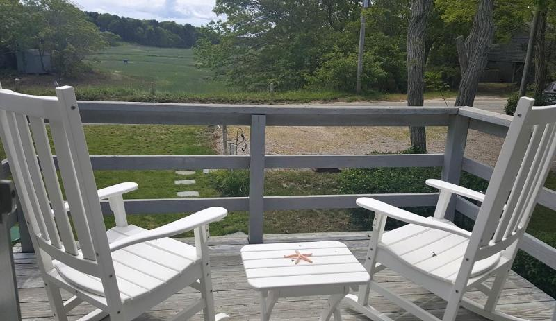 Front deck to everchanging beauiful tidal marsh