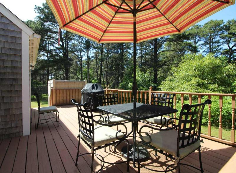 Beautiful deck for lounging and dining