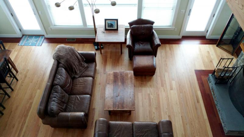Living room from above