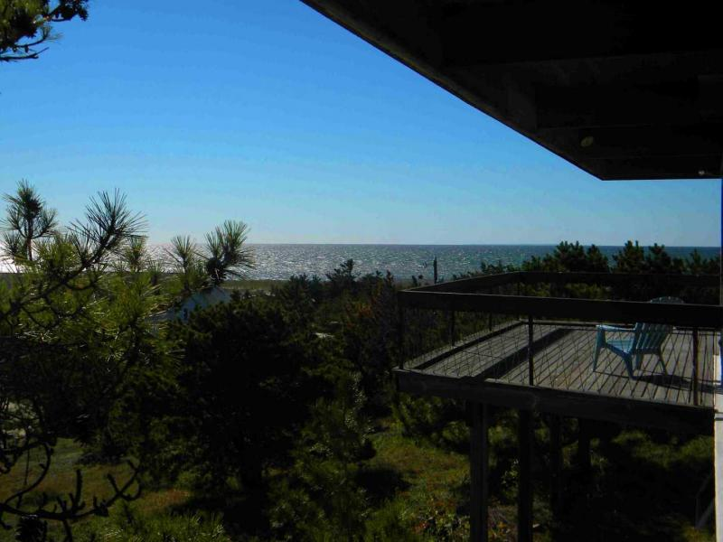 Views of the bay from the deck