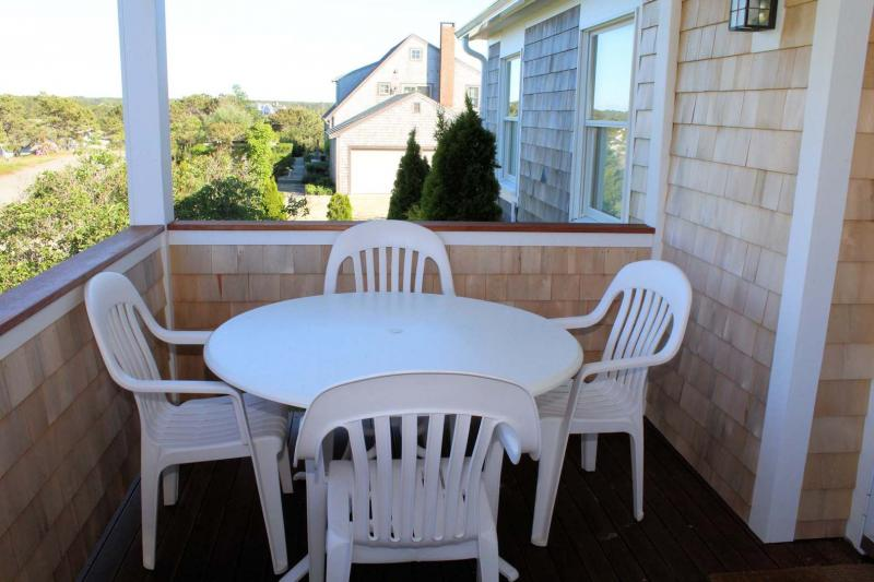 Front porch with table and chairs
