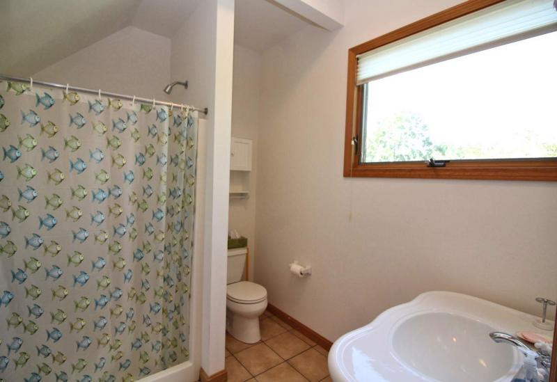 First floor bathroom with shower only