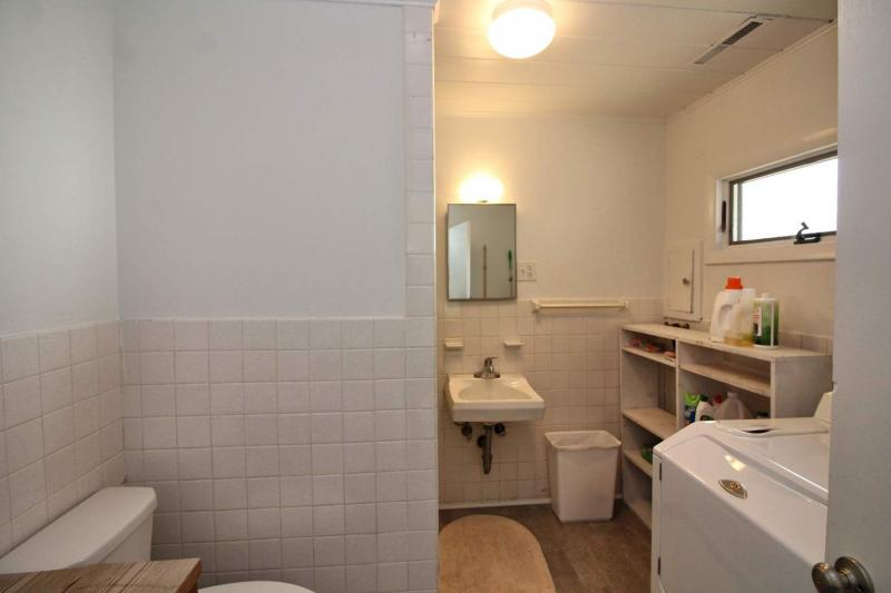 Lower level bathroom with shower only