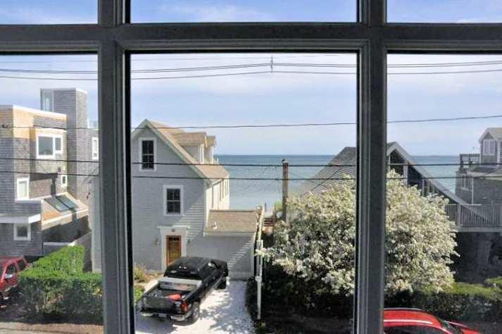 Views of Cape Cod Bay from the unit
