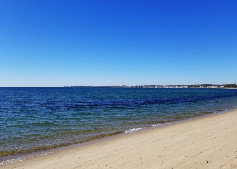 Sunsets and views of Provincetown from beach