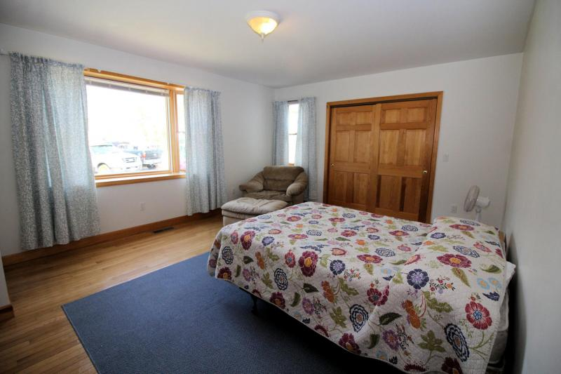 First floor bedroom with double bed