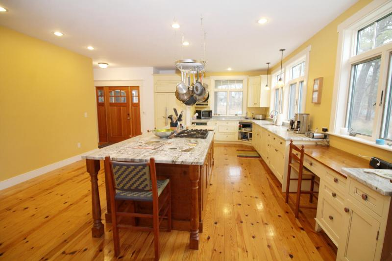 Open and bright kitchen with plenty of counter space