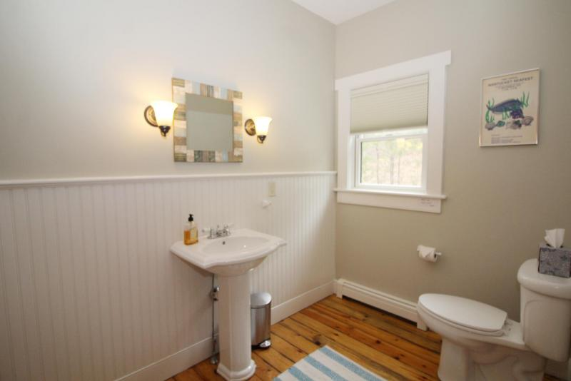 First floor half bath