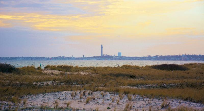 Close up of Provincetown