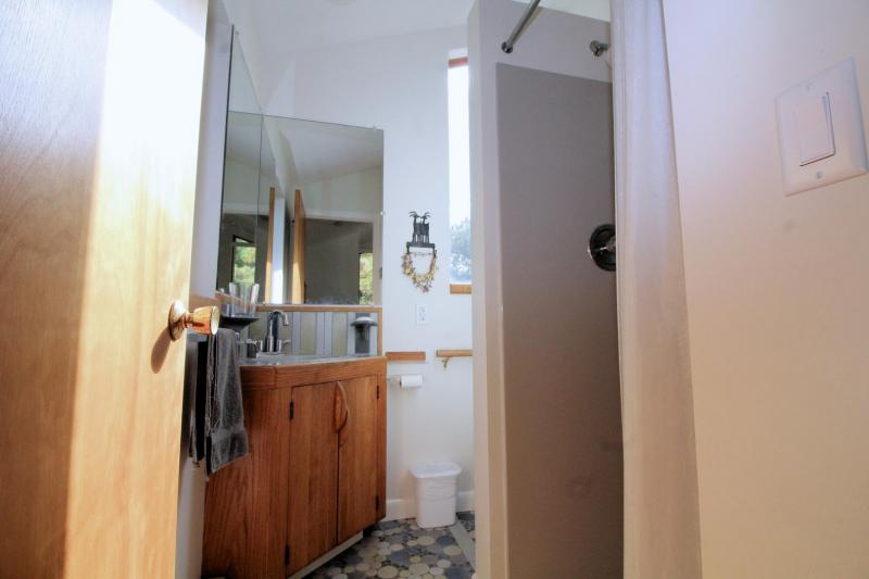 Second floor master ensuite bathroom with shower
