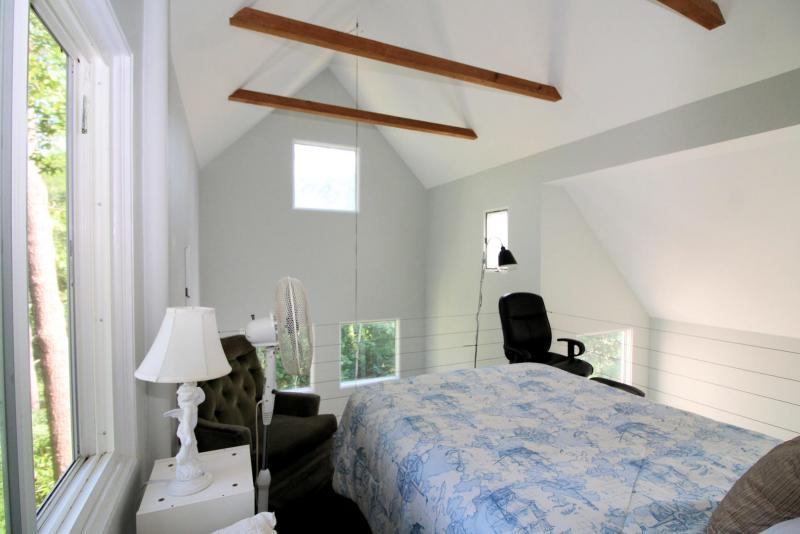 Soaring ceilings and plenty of windows