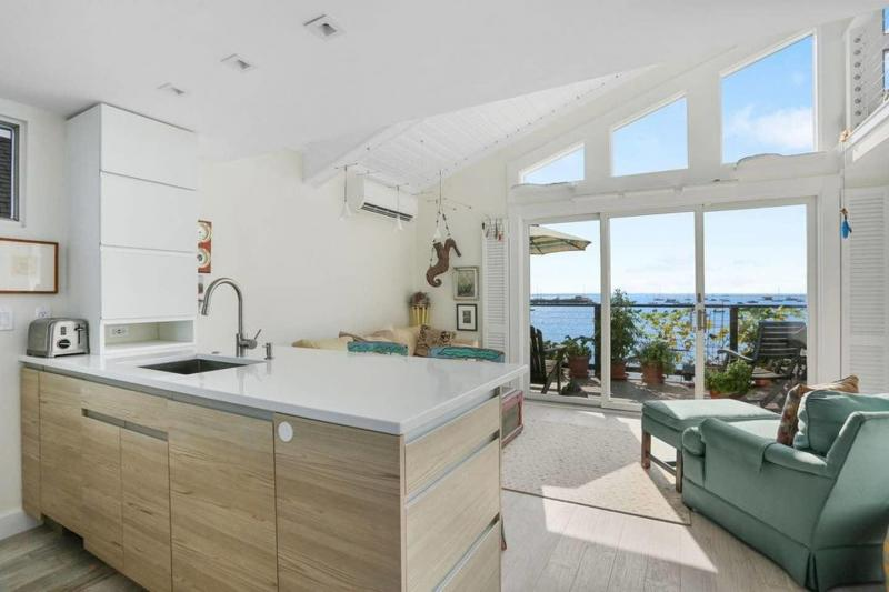 Gorgeous water views from the main living area