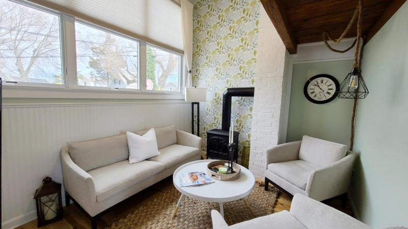 Cozy and inviting living room