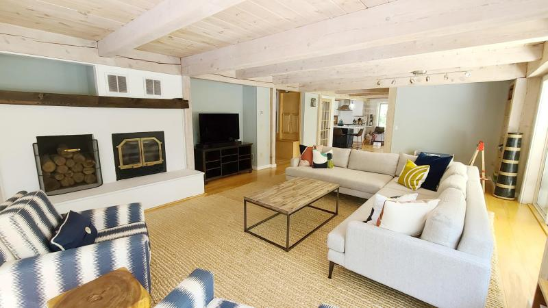 Bright and open living room with comfortable seating