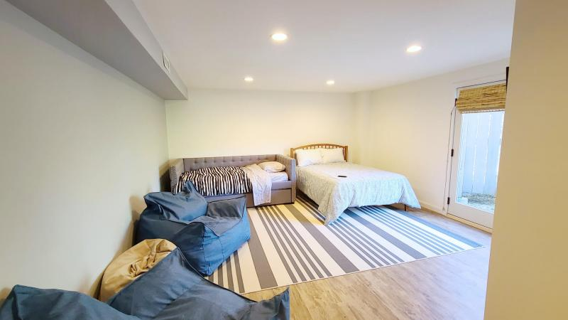 Ground floor bedroom with double and trundle