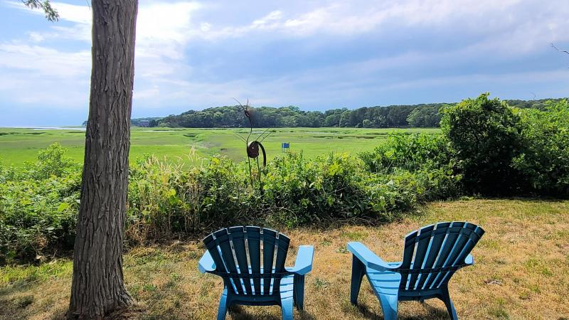 Relax and unwind looking out over Blackfish Creek
