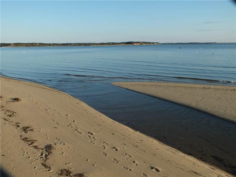 Wellfleet Bay beach