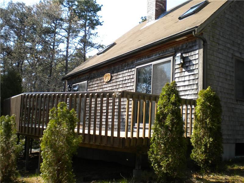 Exterior and front deck
