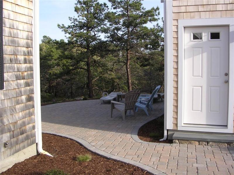 Follow the path to the patio and deck beyond