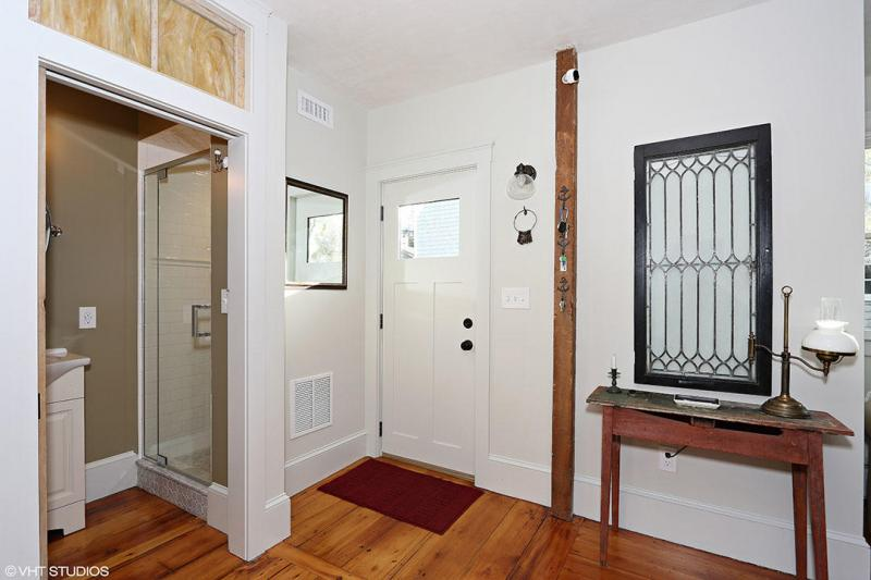 Entry to living room