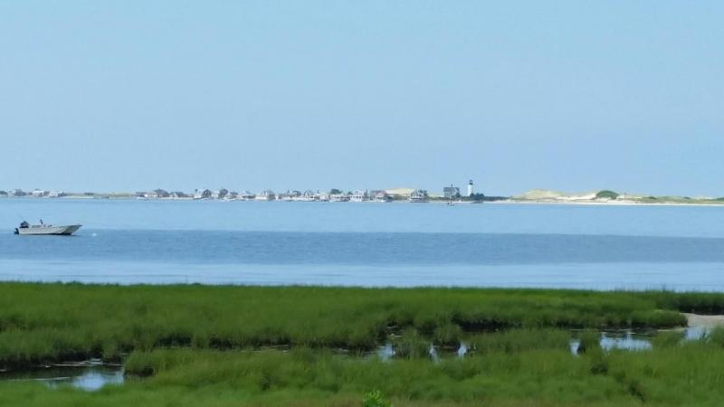 Nearby Beach with Views of Sandy Neck