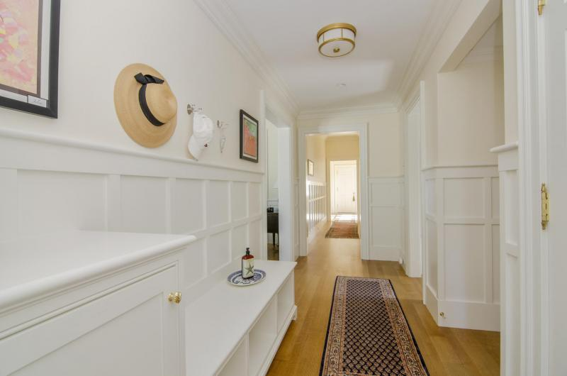 Hallway to laundry and butlers pantry