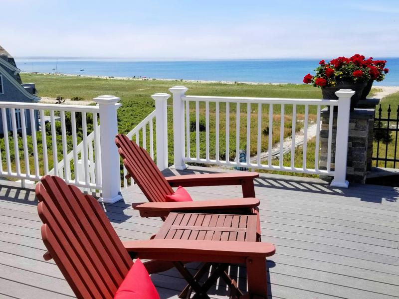 Relax and enjoy the view from the upper deck