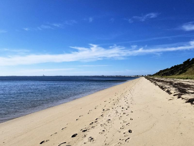 Cape Cod Bay looking towards Provincetown