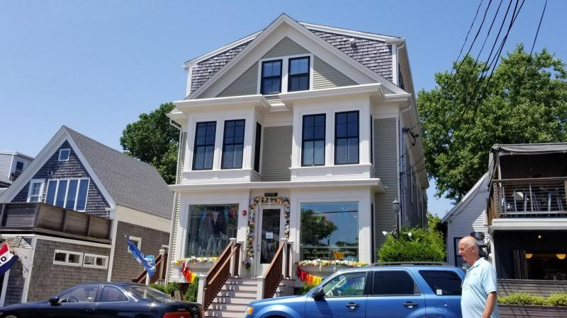 Wonderful Commercial Street location with harbor views