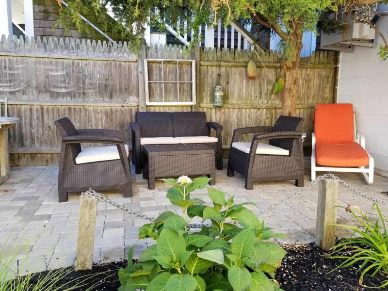 Sit out on the beautiful patio
