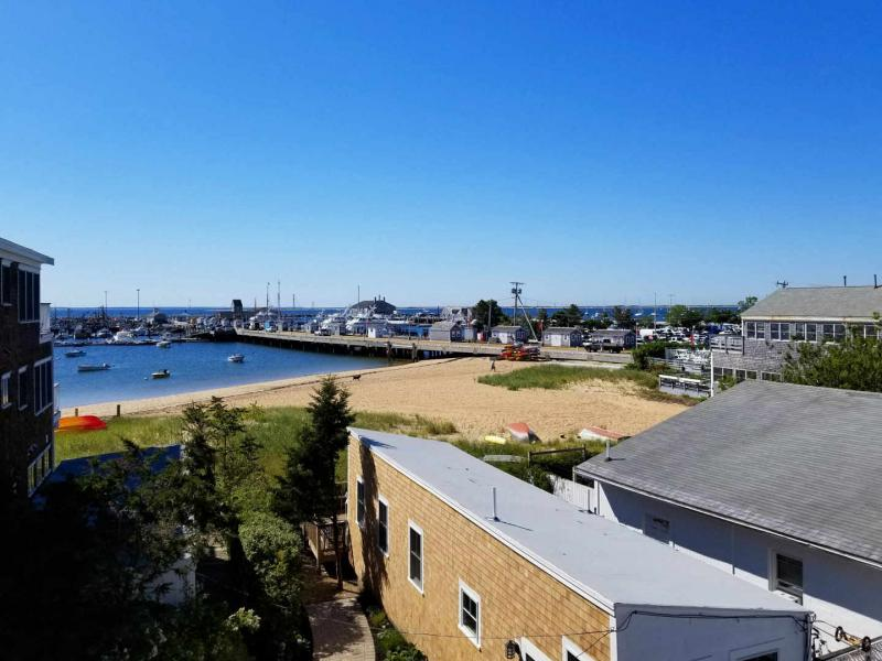 Private deck with Provincetown Harbor views