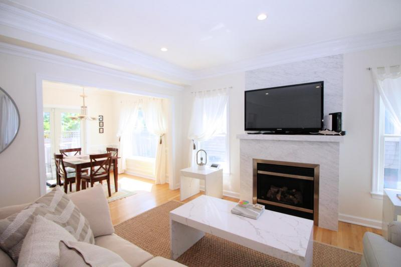 Main living space is roomy and bright