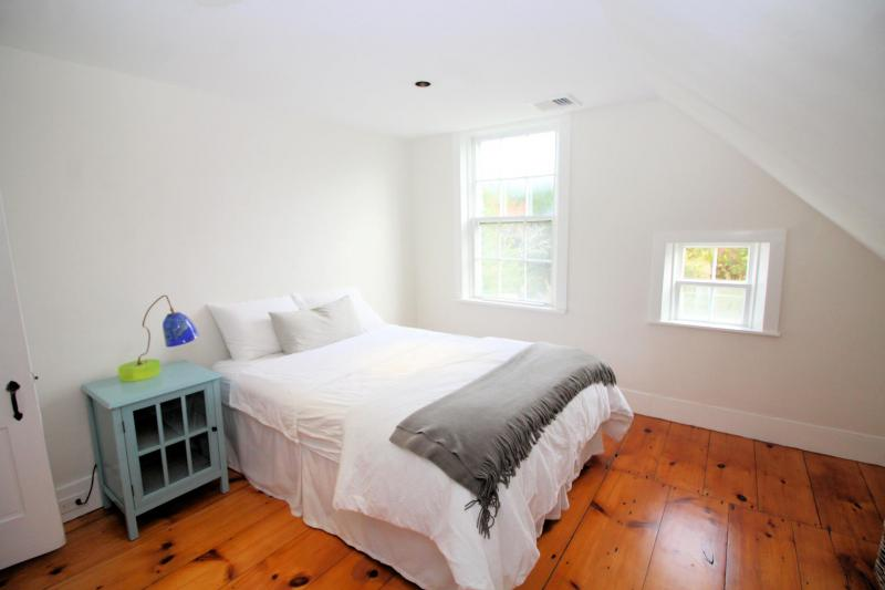 Second bedroom with full bed on second floor