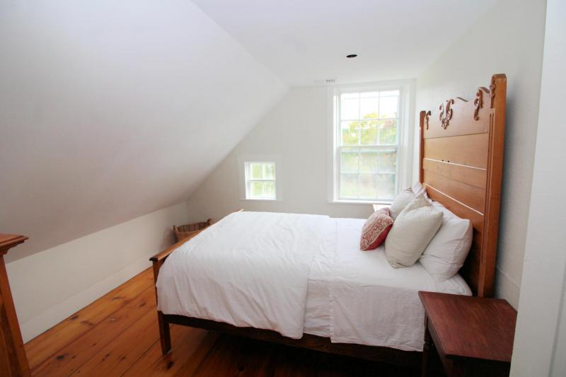 Third bedroom with full bed on second floor