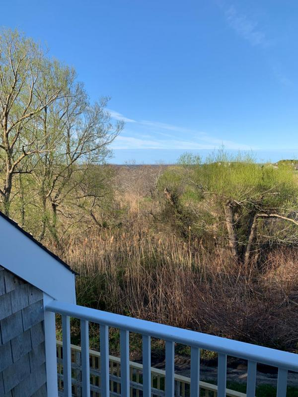 View from second floor balcony