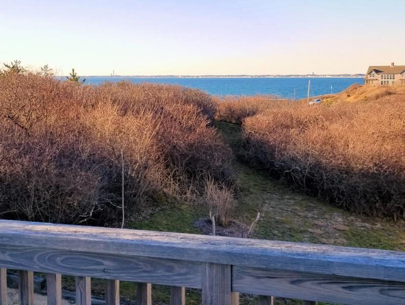 Beautiful Cape Cod Bay views and sunsets from the deck