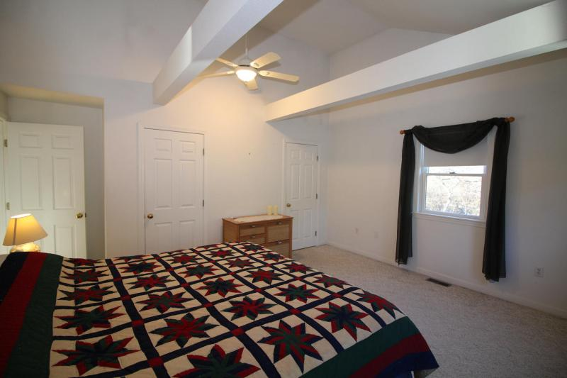 First floor master with king bed