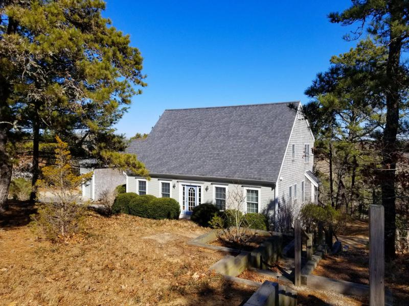 Walk to Wellfleet Center from this five bedroom home