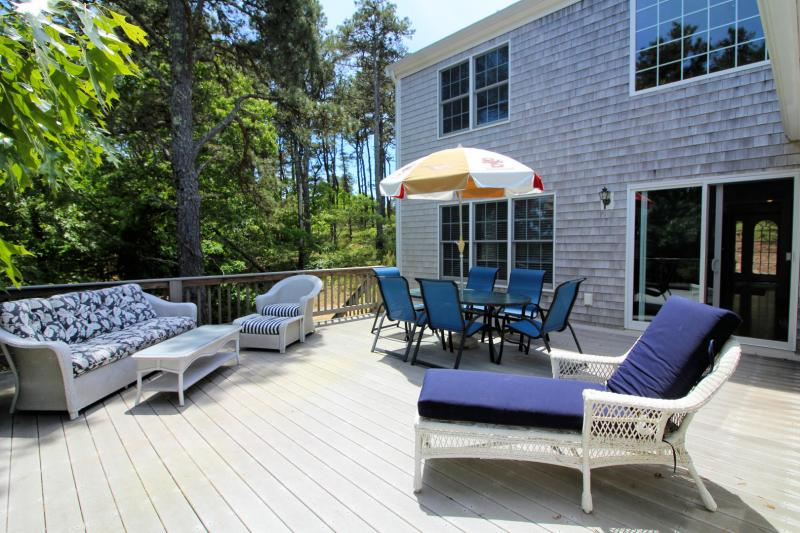 Relax on the deck with outdoor furniture