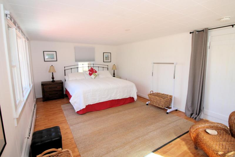 Bedroom with king and private entrance