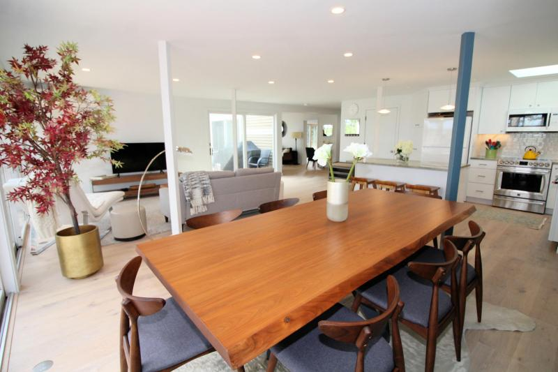 Large dining table with room for all