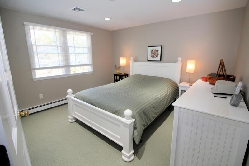 Second floor bedroom with queen bed