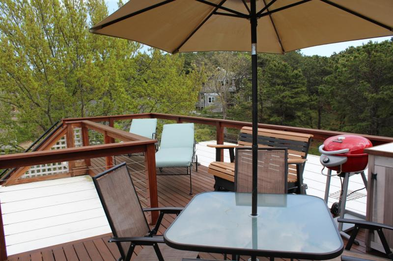 Relax and enjoy the view from the fantastic rooftop deck