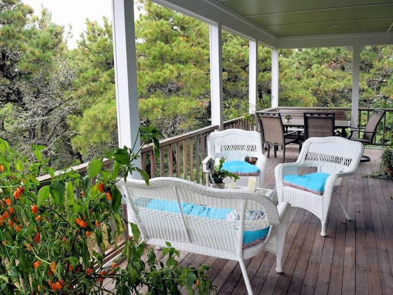 Relax on the wonderful porch