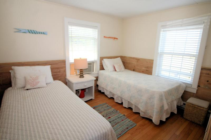 First floor bedroom with two twins
