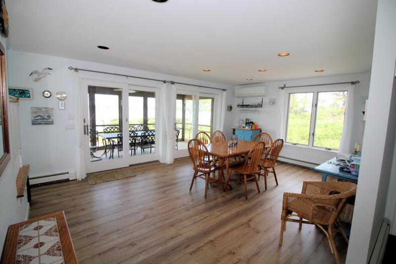 Separate dining room just off kitchen