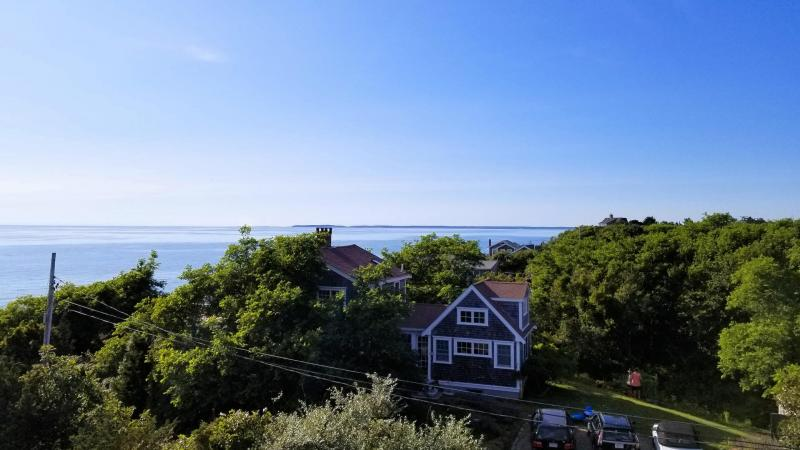 Panoramic Cape Cod Bay views from the roof deck