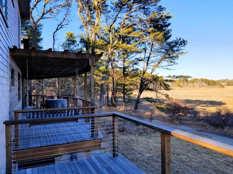 Two decks with amazing views of Fox Island Marsh